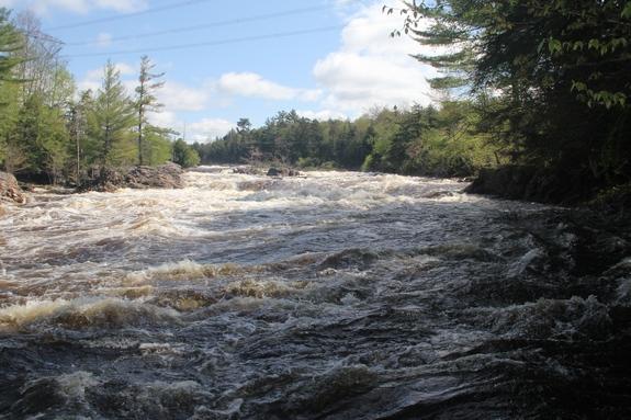 Northern new york waterfalls crystal falls for Crystal falls