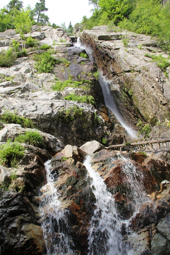 Northern New York Waterfalls ... Roaring Brook Falls